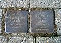 Fritzenwiese 38, Celle, 48 F, Stolperstein Mendel Schul Jg. 1888 Tot 31.3.1942 in Buchenwald, Berta 1900 geb. Felder deportiert 1941 Riga Tot in Stutthof.jpg