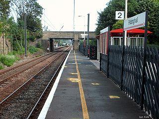 Frizinghall railway station Railway station in West Yorkshire, England