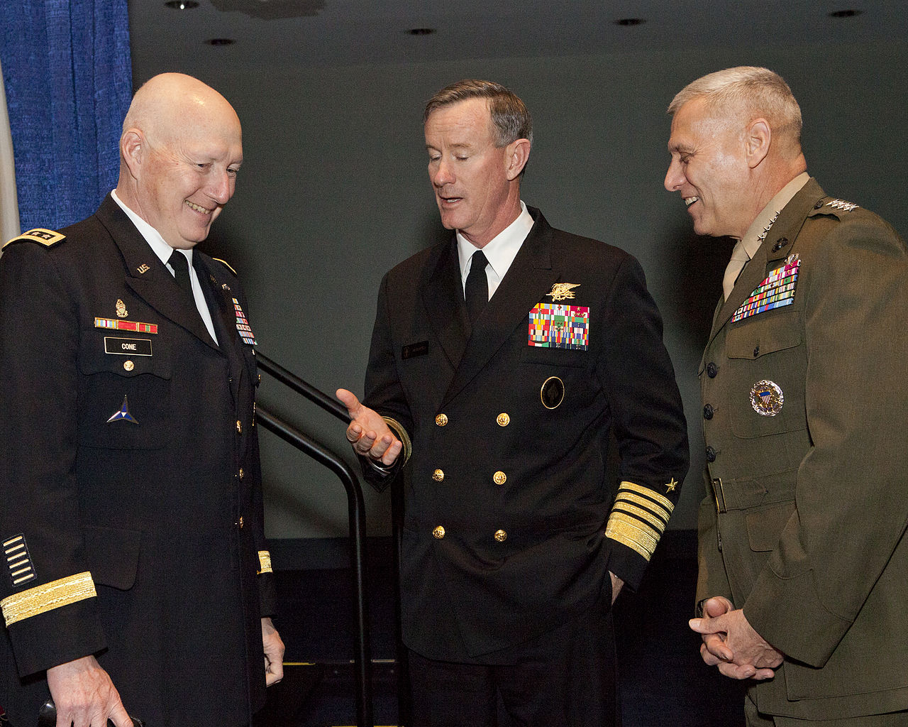 File:From left, the Commanding General of U.S. Army ...