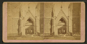 Front entrance to Unity Church, by Bowman, W. ...