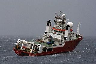 MV <i>Fugro Equator</i> survey vessel