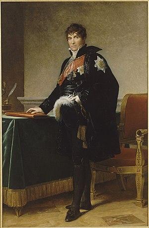 Michel-Louis-Étienne Regnaud de Saint-Jean d'Angély - Portrait of Michel Regnaud de Saint-Jean d'Angély by François Gérard (1808).