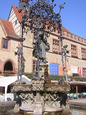Friedrich Heinrich Stöckhardt - Gänseliesel, Göttingen's landmark