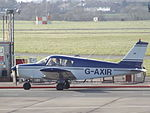 G-AXIR Piper Cherokee (24448281553).jpg