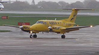 Scottish Ambulance Service - Beech King Air