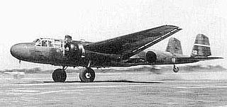Mitsubishi G3M WWII-era medium bomber