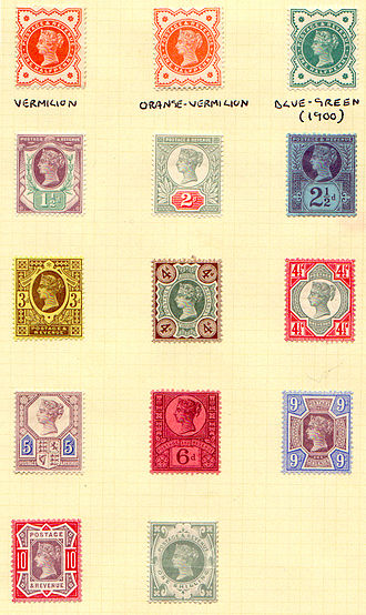 Jubilee Issue - A complete set of Jubilees.
