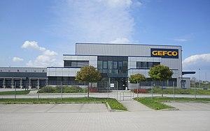 Groupe PSA - Image: GEFCO Großbeeren