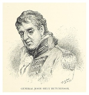 John Hely-Hutchinson, 2nd Earl of Donoughmore Anglo-Irish politician and soldier
