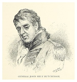 Siege of Cairo - Portrait of General Hely-Hutchinson