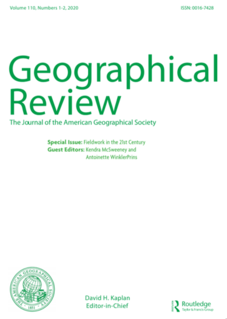 <i>Geographical Review</i> Academic journal
