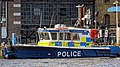 Gabriel Franks II police boat at Wapping Police Pier 01.jpg