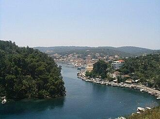Paxi - Gaios: south part of the port