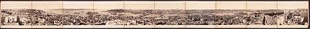 منظر عام للمدينة من برج غلطة في عام 1890.