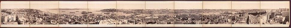 Панормаски приказ Истанбула из османског периода