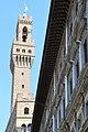 Galleria degli Uffizi, Palazzo Vecchio, Firenze - panoramio.jpg
