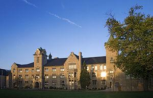 Collegiate institute - Galt Collegiate Institute and Vocational School was the first institution to be designated a Collegiate Institute by the province of Ontario.