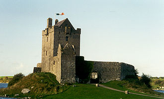 County Galway - Dunguaire Castle, built c. 1520