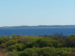 Garden Island (Western Australia) - Garden Island viewed from near the Kwinana Grain Terminal