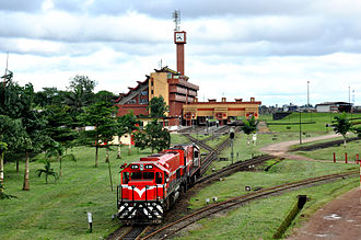 Douala - Gare de Bessengué, Douala's train station
