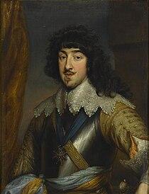 Gaston of France, Duke of Orléans by Anthony van Dyck (Musée Condé).jpg