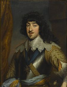 Gaston of France, Duke of Orléans by Anthony van Dyck (Musée Condé).jpg
