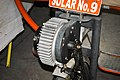 Gear assembly for a solar car in Automobiles in Vintage & Classic Car Collection Museum of Udaipur.jpg
