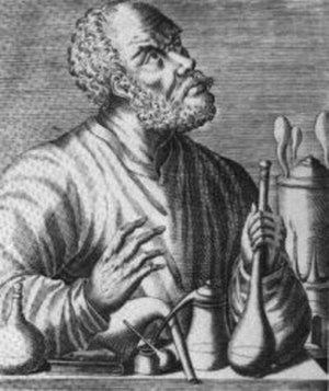 "Timeline of chemistry - Geber (d. 815) is considered by some to be the ""father of chemistry""."