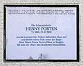 Gedenktafel Albrechtstr 40 (Stegl) Henny Porten.jpg