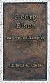 Gedenktafel Kirchstr 13 (Moabi) Georg Elser.jpg
