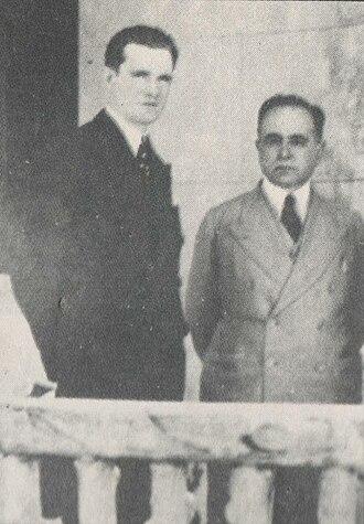 Ernesto Geisel - Geisel with President Getúlio Vargas in 1940