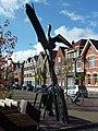 Gekooide vrijheid, Hans van Eerd, Wilhelminaplein Eindhoven (2).JPG