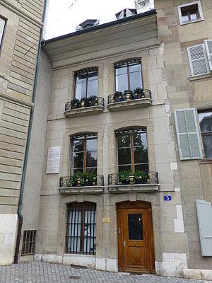 Augustin Pyramus de Candolle - de Candolle family home in Geneva