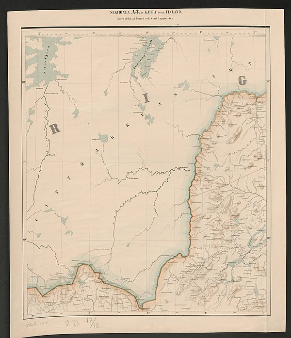 600px general map of the grand duchy of finland 1863 sheet a3