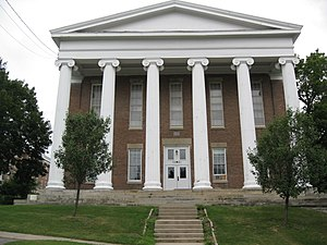 Genesee College Hall, formerly the location of...