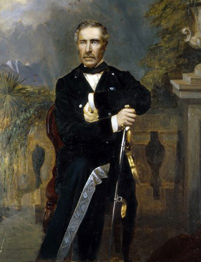 Sir George Grey, twice Governor of New Zealand and later Premier GeorgeEdwardGrey02.jpg