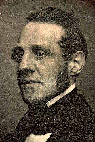 George Thompson (abolitionist) - 1851 daguerreotype