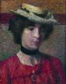 Georges Lemmen - Jeune femme au chapeau - 1905 - 001.jpg