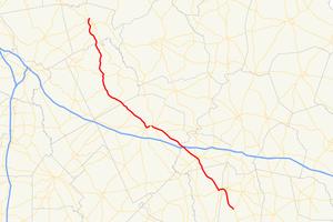 Georgia State Route 29 - Image: Georgia state route 29 map