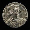 German 16th Century, Albrecht of Brandenburg, 1490-1545, Cardinal 1518 (obverse), 16th century, NGA 45567.jpg