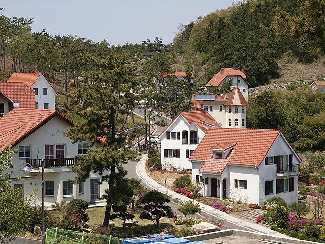 Namhae-gun South Korea  city photo : ... Maeul , German Village, Namhae gun, Gyeongsangnam do, South Korea