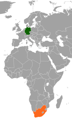 Diplomatic relations between the Federal Republic of Germany and the Republic of South Africa