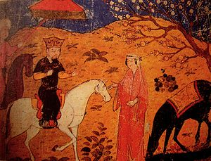 Ghazan - Ghazan mounted a horse.