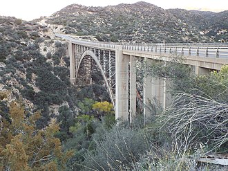 Gila County, Arizona - Pinto Creek Bridge on US 60