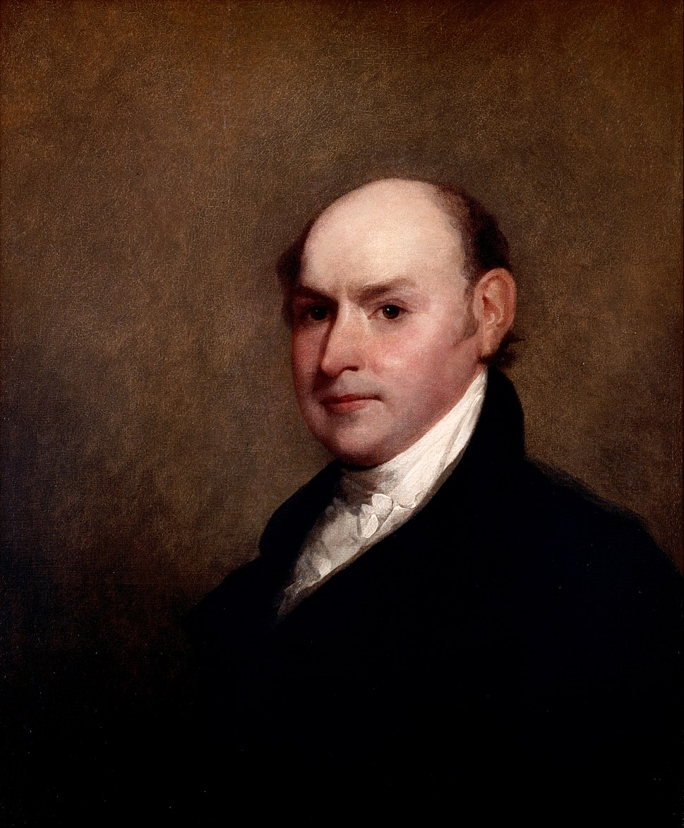 Gilbert Stuart - John Quincy Adams - Google Art Project