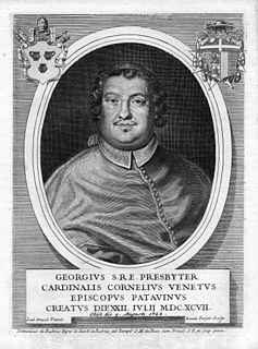 Giorgio Cornaro (cardinal) italien cardinal