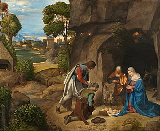 Bernard Berenson - The Allendale Nativity, which Berenson attributed to Titian.