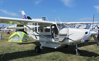 GippsAero GA8 Airvan - GA8 with baggage pod