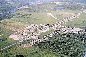 Girardville, Quebec - Image: Girardville 1980