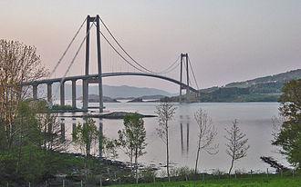 European route E39 - Gjemnessund Bridge